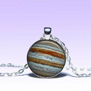 ~ Mystic Jupiter Planet Pendant ~